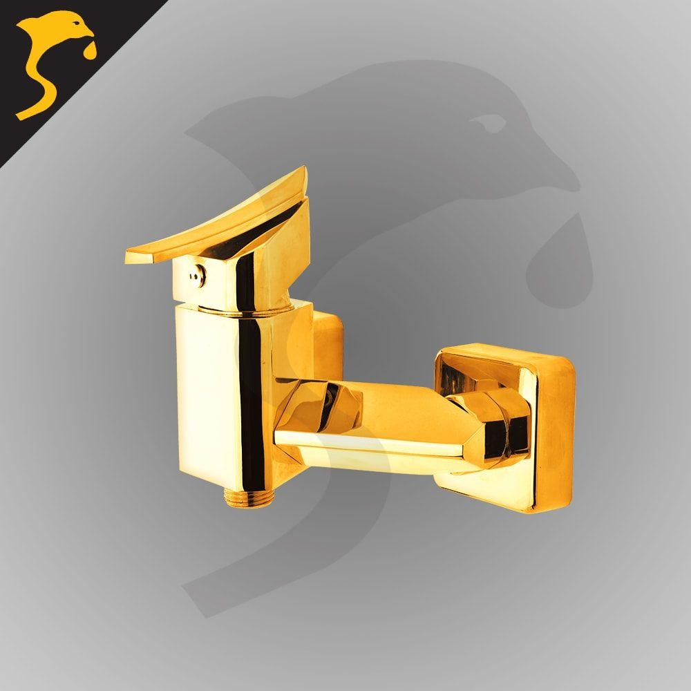 شیر توالت (دستشویی) ست دیبا طلایی