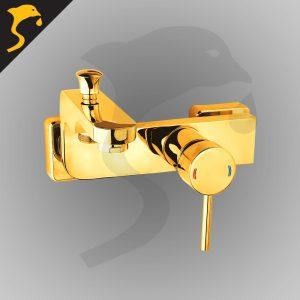 شیر حمام (دوش) مدل آکوآ رنگ طلایی